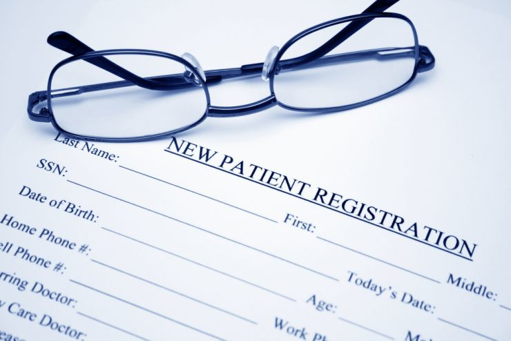 New Patients Online Signup Form